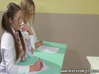 horny student acquires dominated at school