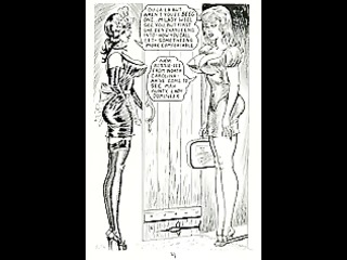 vintage lesbo whipping servitude comic