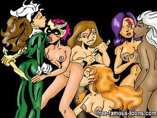 famous toons lesbo sex